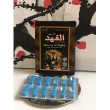 Леопард американский для мужчин 1 упаковка 12 таблеток E-0078