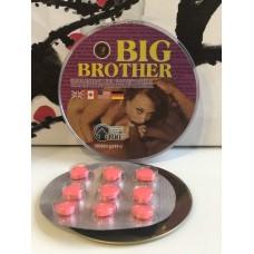 BIG BROTHER  для мужчин 9 таблеток E-0122