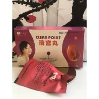 CLEAN POINT- лечебные тампоны для женщин 6 шариков E-0131