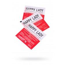 Крем для усиления возбуждения Milan Happy Lady для женщин, саше 10 шт