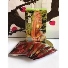 Sex special powder возбуждающий порошок для женщин Салатовый 5 пакетиков E-0229S-1